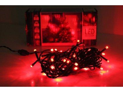 LED reťaz červená vianočná