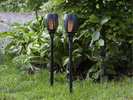 solarne lampy do zahrady