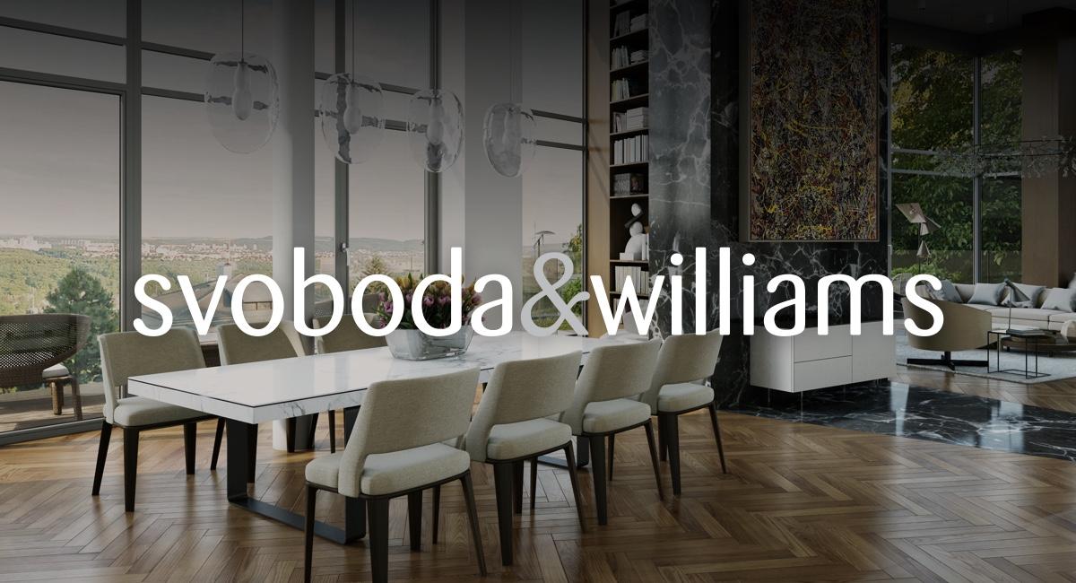 Svoboda & Williams: aneb když už nemáte místo na další krásnou vázu