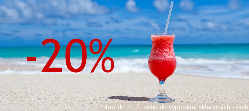 letní slevy 20%