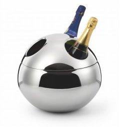 Designové chladící nádoby na šampaňské