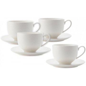 Hrnky s podšálkem na čaj