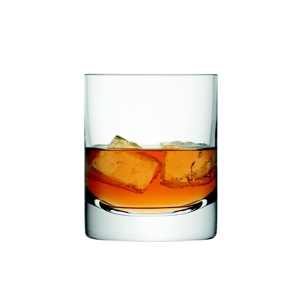 14216 lsa bar sklenice na whisky 250ml set 4ks handmade