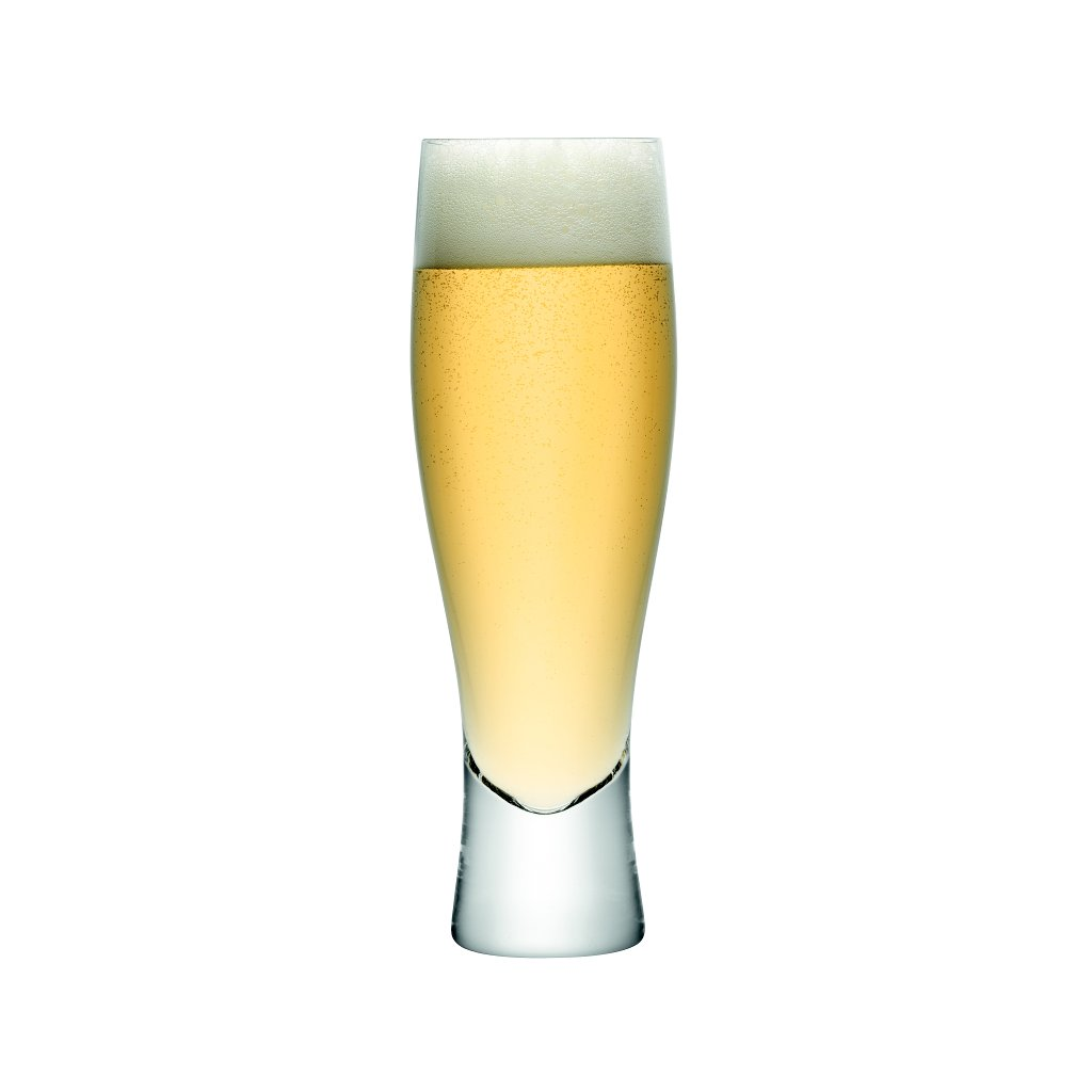 14243 lsa bar sklenice na pivo 400ml set 4ks handmade