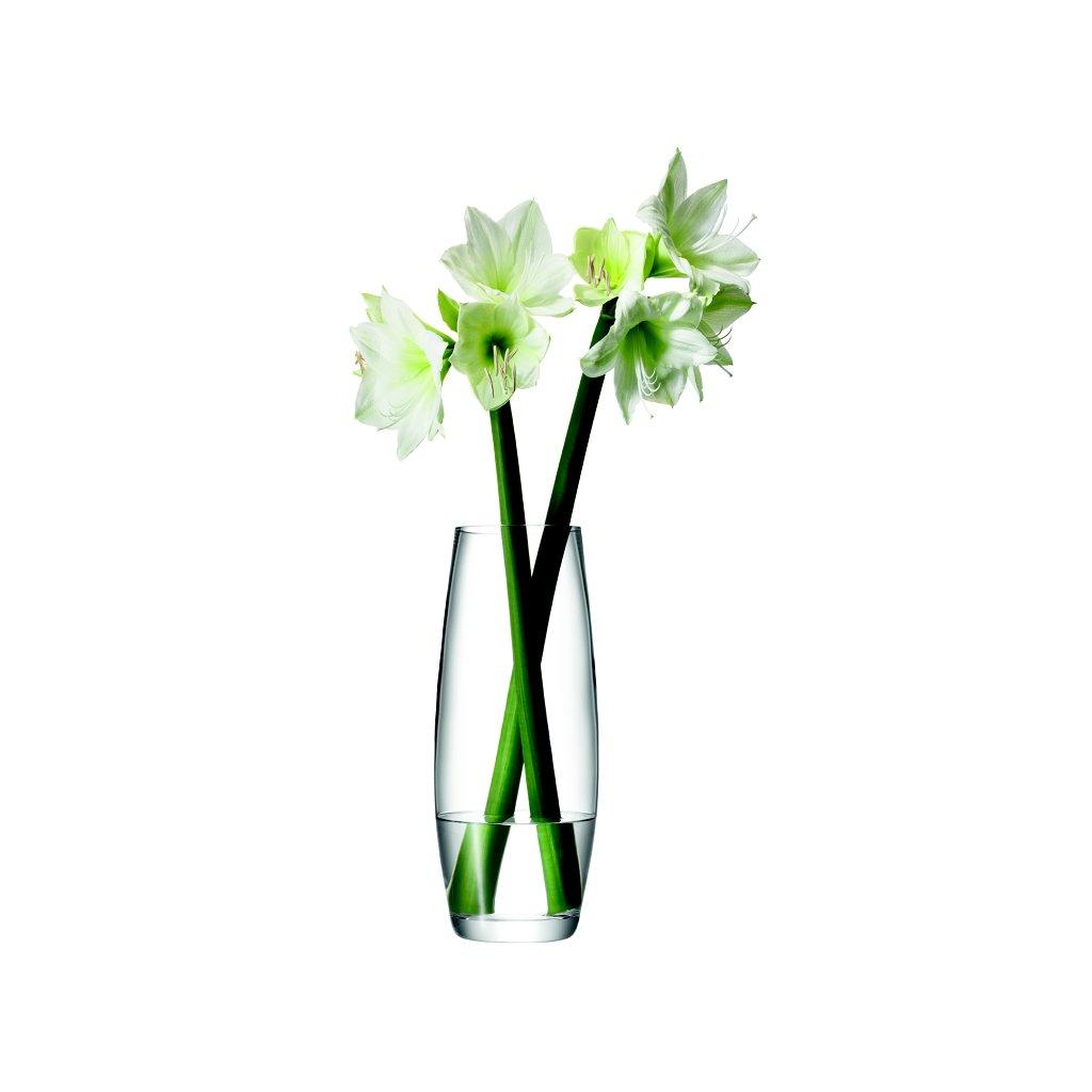 14285 lsa flower grand sklenena vaza 41cm cira handmade