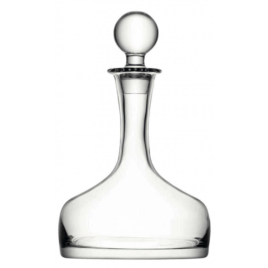 LSA dárkový set Whisky, 4 sklenice (250ml), karafa (1,6l), čiré, Handmade