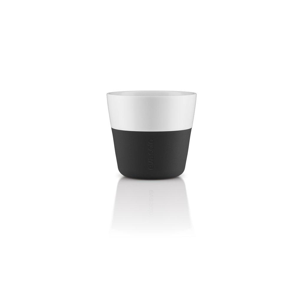 15759 hrnky na kavu lungo 230 ml set 2ks cerna eva solo
