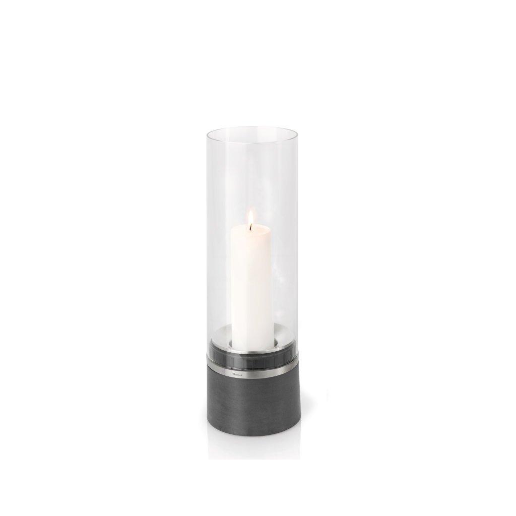 Svícen 47 cm včetně svíčky PIEDRA - Blomus