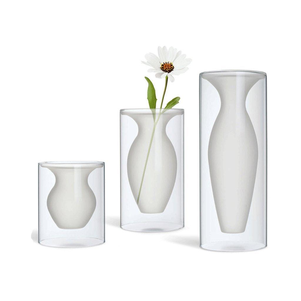 Skleněná váza Esmeralda 3 velikosti - Philippi