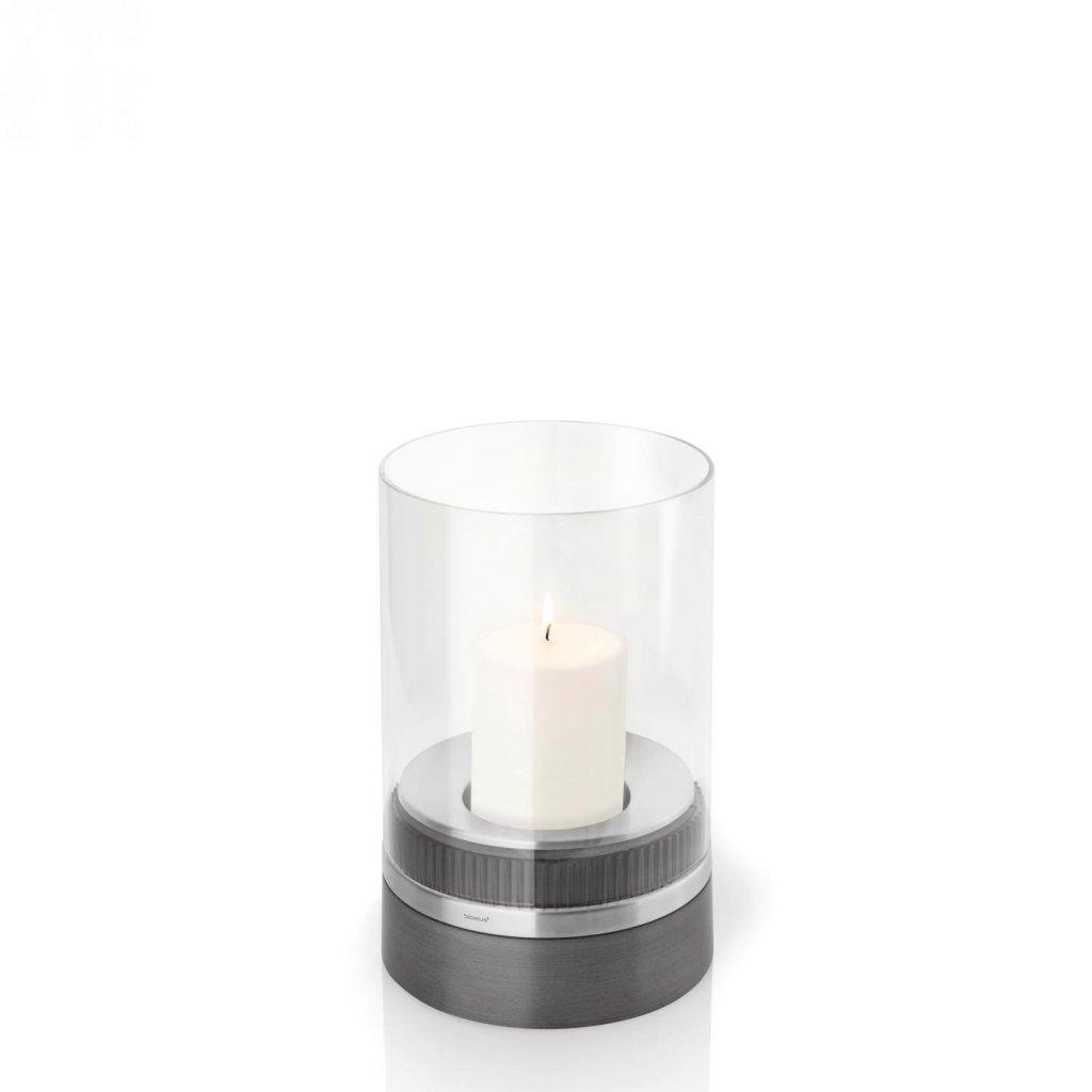 Svícen 23,5 cm včetně svíčky PIEDRA - Blomus