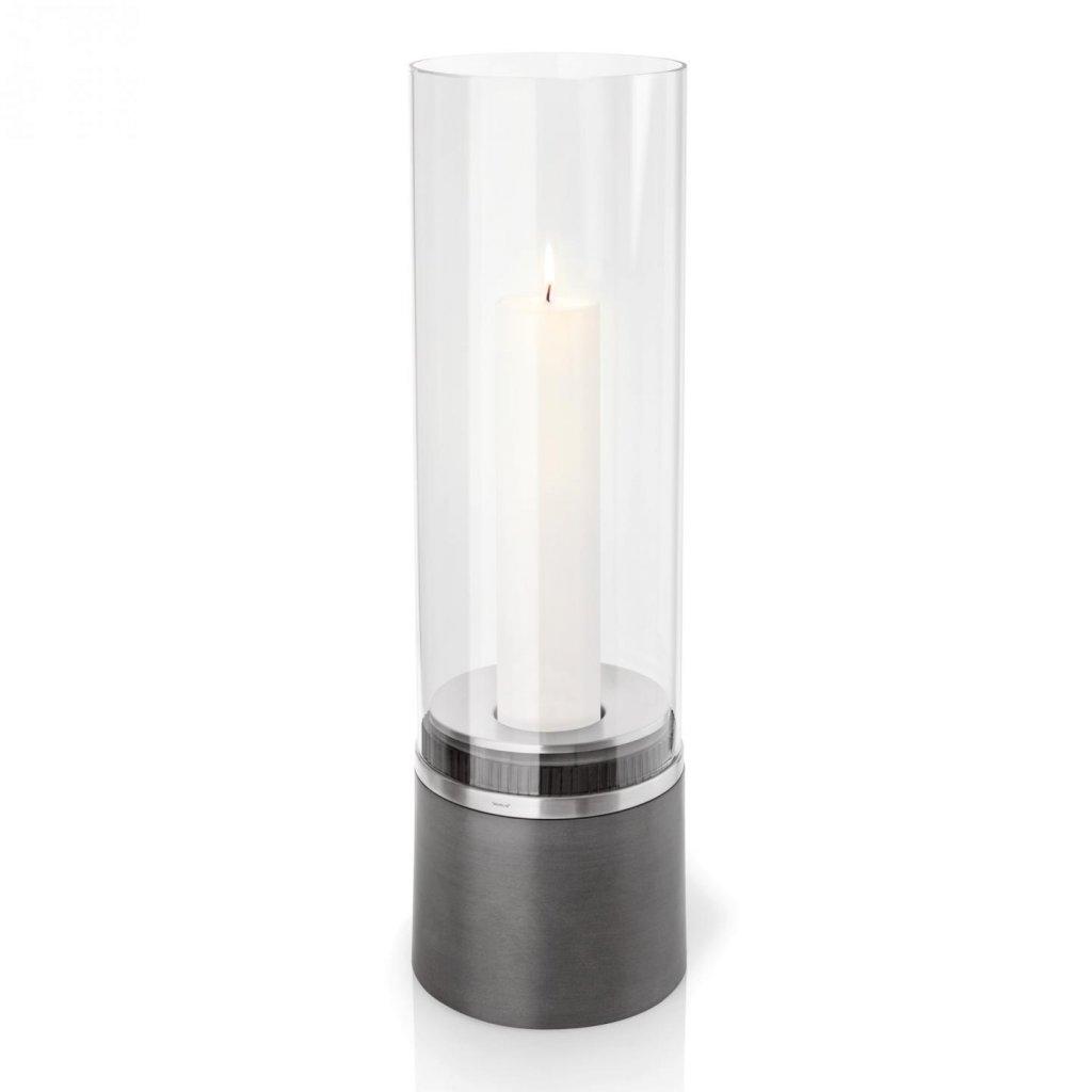 Svícen 60 cm včetně svíčky PIEDRA - Blomus