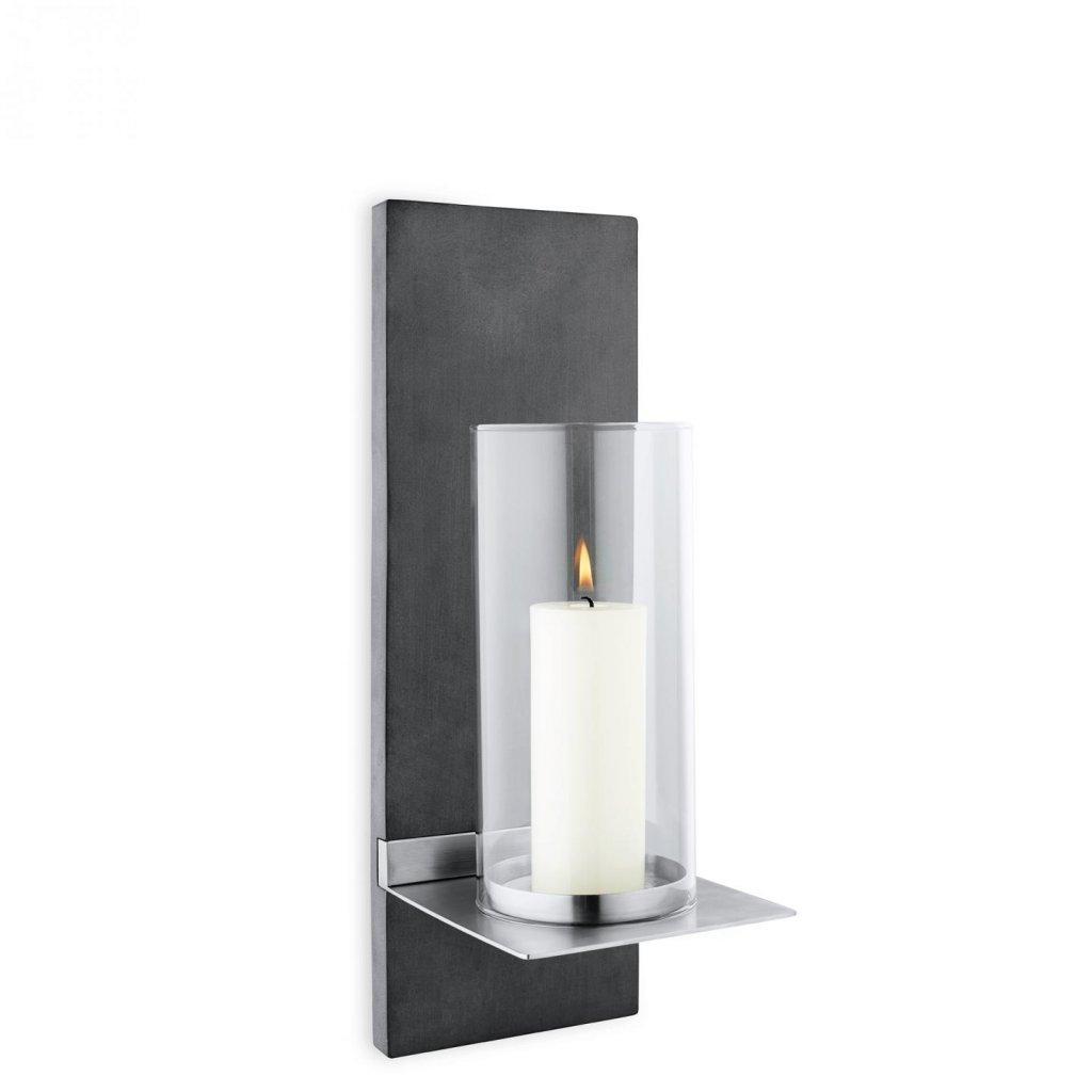Nástěnný svícen 38 cm vč. svíčky FINCA - Blomus