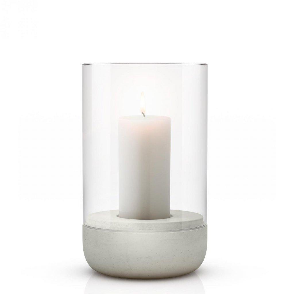 Svícen na čajovou svíčku 20 cm CALMA - Blomus