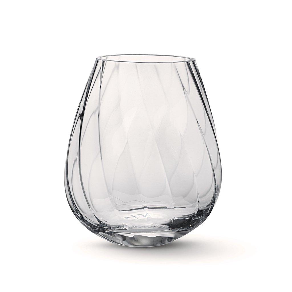 Skleněná váza Facet, vysoká - Georg Jensen