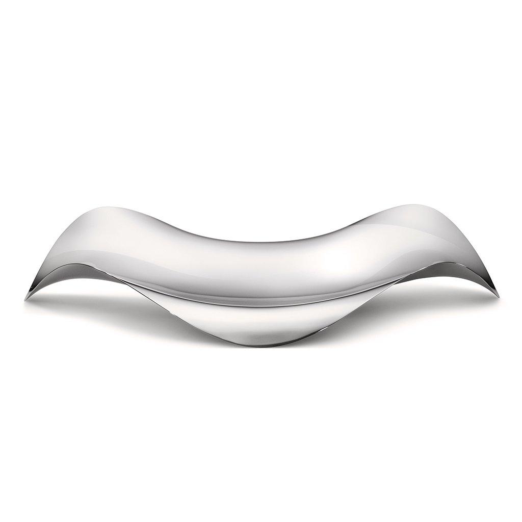 Oválný podnos Cobra, nerez - Georg Jensen