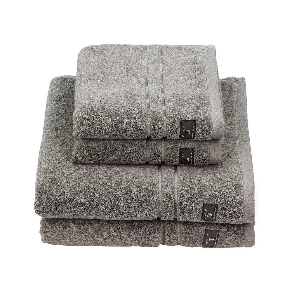 premium terry towel sheep grey hand towel 291160