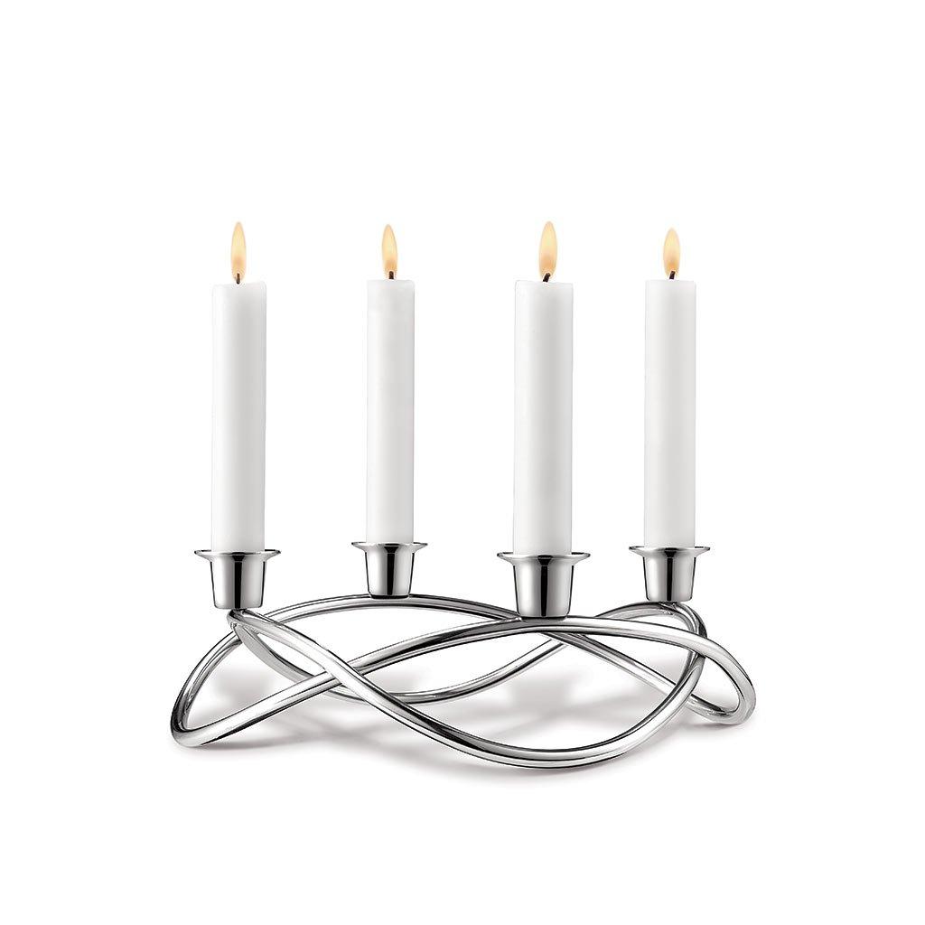 Svícen Season pro 4 svíčky - Georg Jensen