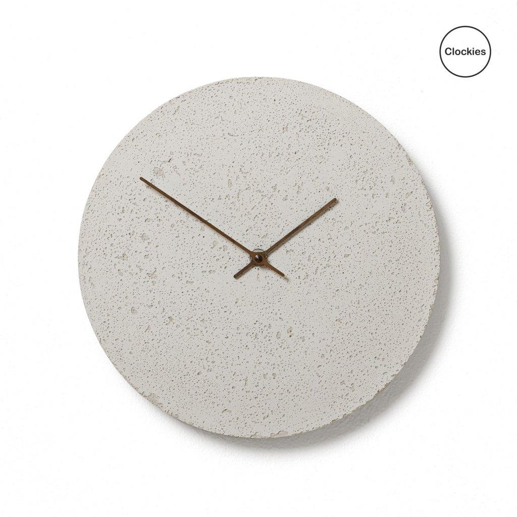 Betonové hodiny Clockies CL300402
