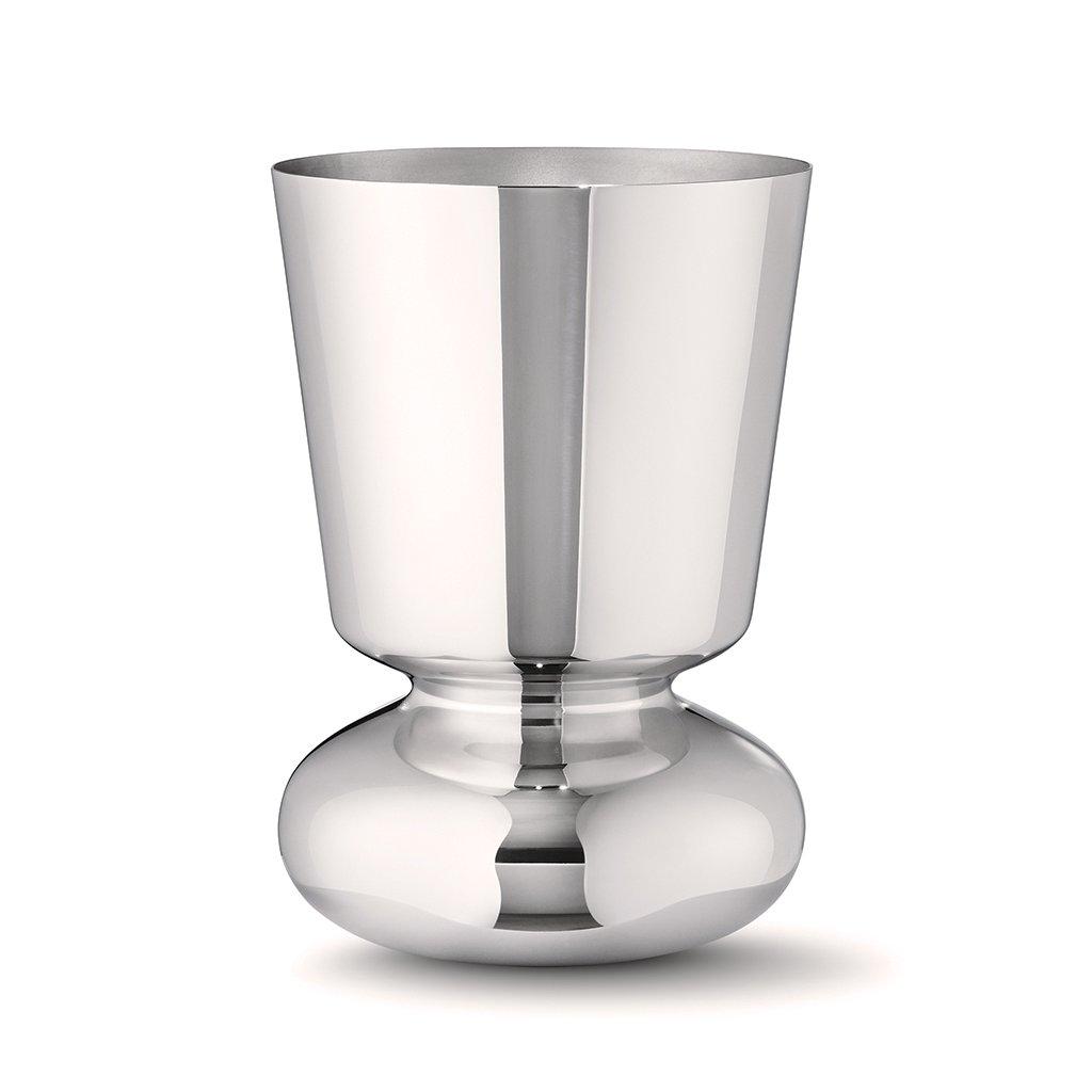 Váza Alfredo z nerezové oceli, malá - Georg Jensen