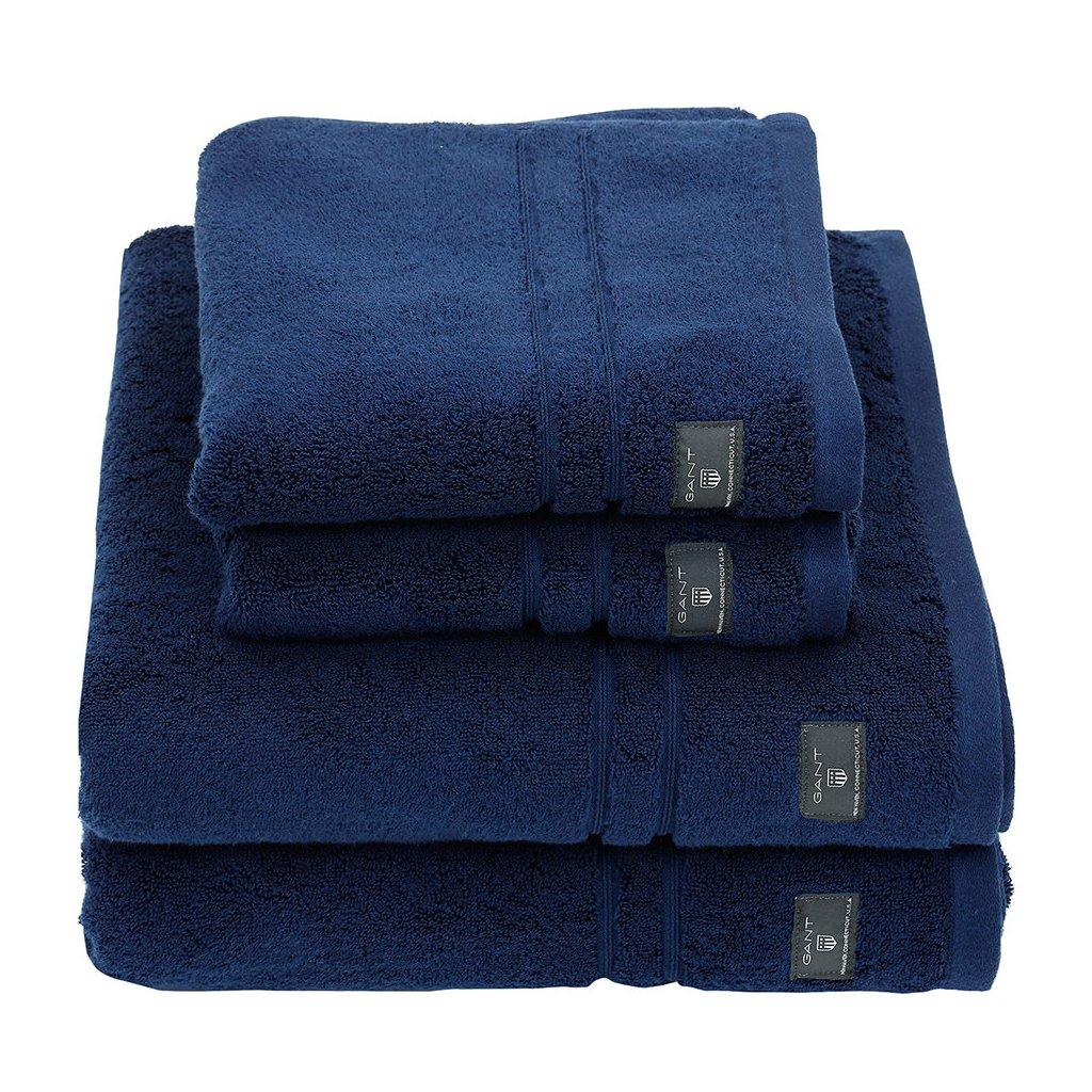 premium terry towel hurricane blue hand towel 601294