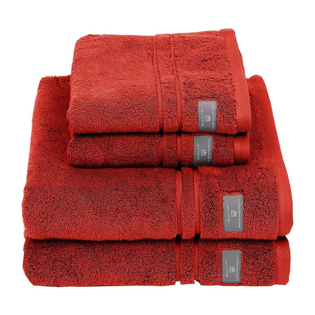 premium terry towel burnt ochre hand towel 286893
