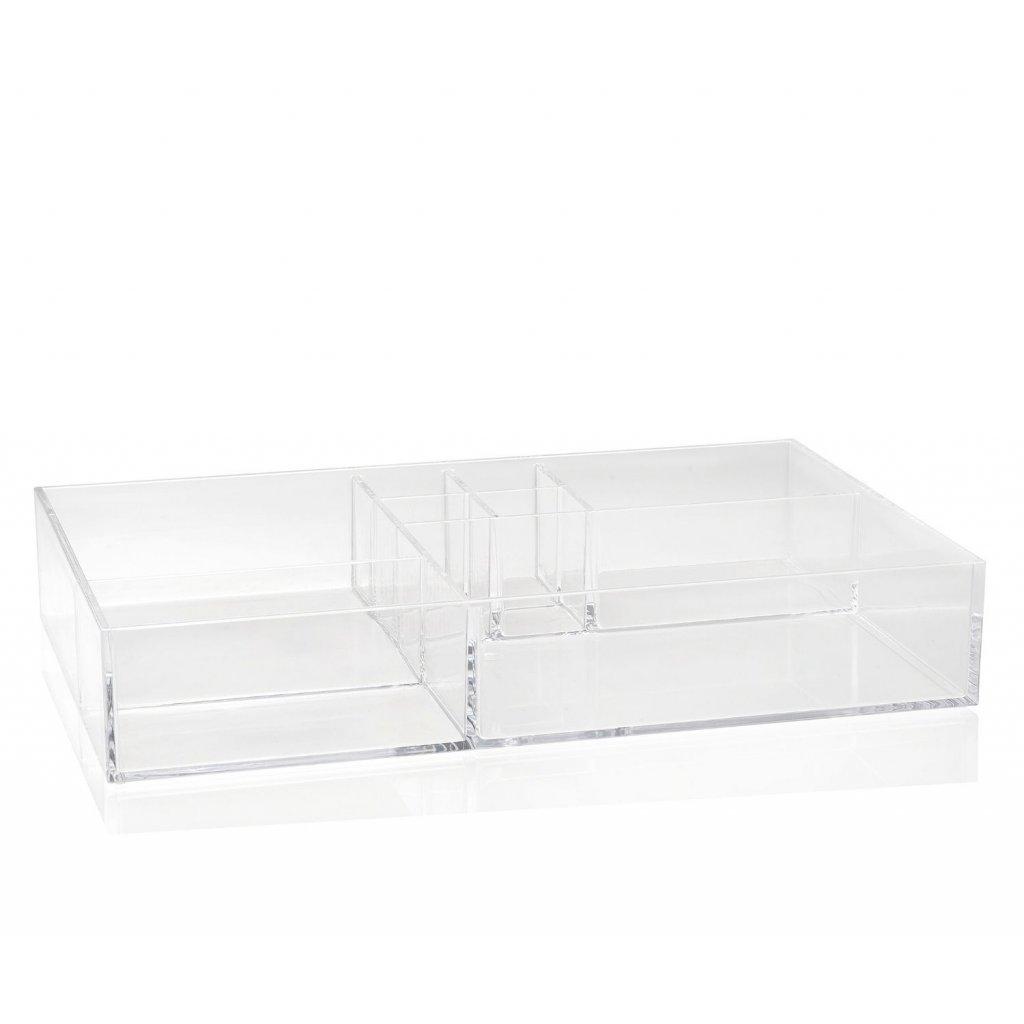 bandeja organizadora acrilica con 8 compartimentos2