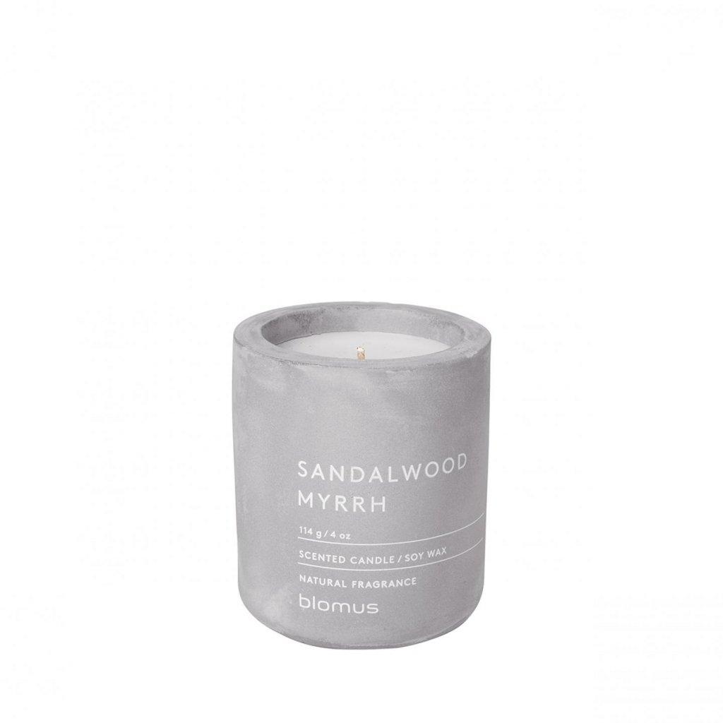Svíčka S - santalové dřevo a myrha (FRAGA) - Blomus