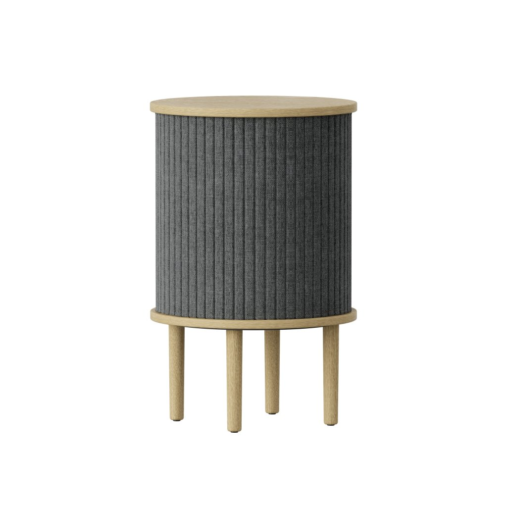 UMAGE packshot 5603+5603 5 Audacious side table oak slate grey (2) high res