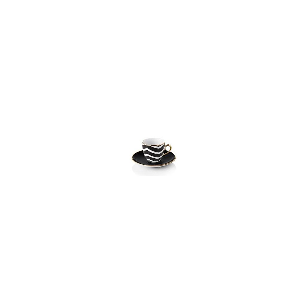 cafe turc selamlique collection zigzag noir