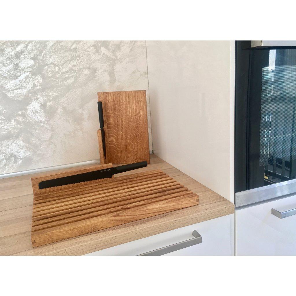 Stand by bread board - Clap Design (Varianta S NOŽEM)