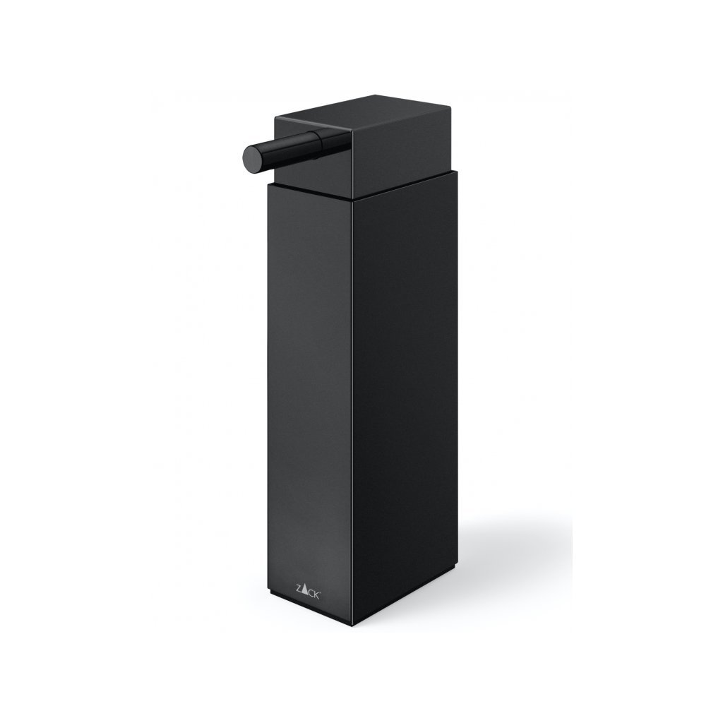 LINEA dávkovač tekutého mýdla, stojací, černý - ZACK