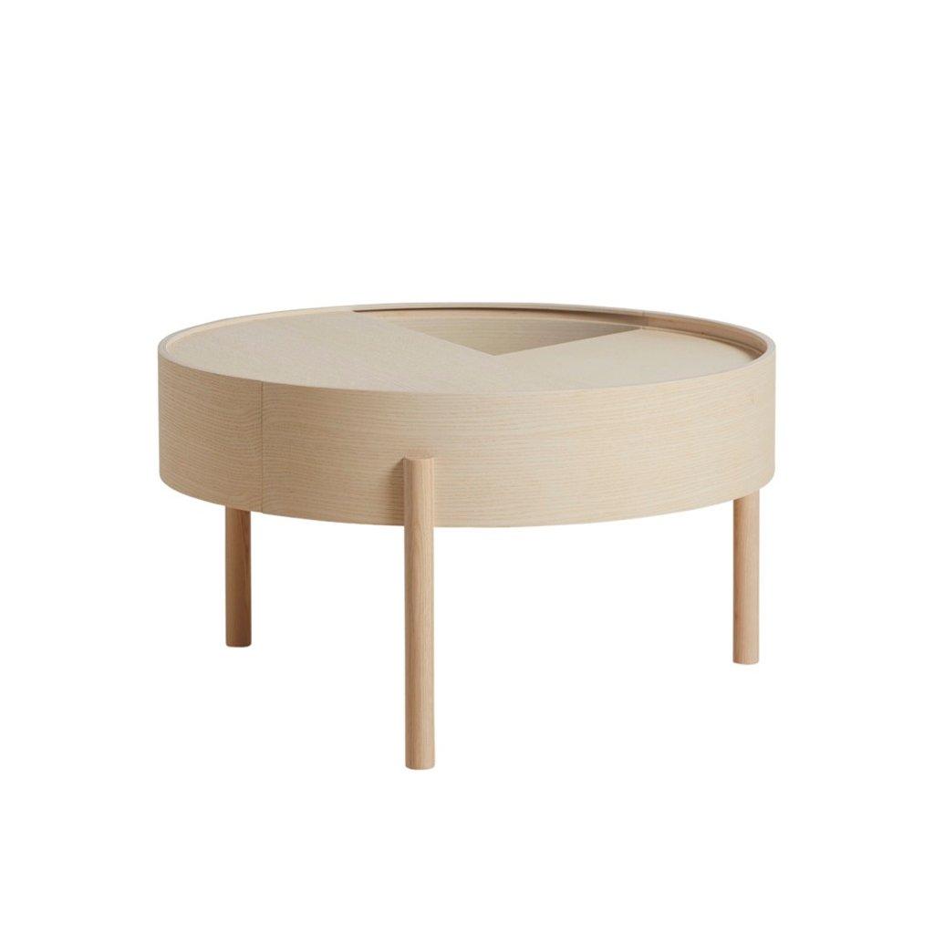 Arc coffee table ash