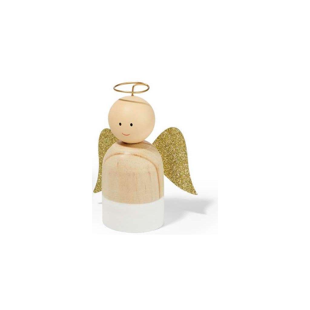 Vánoční anděl LEON, vel. S - Philippi