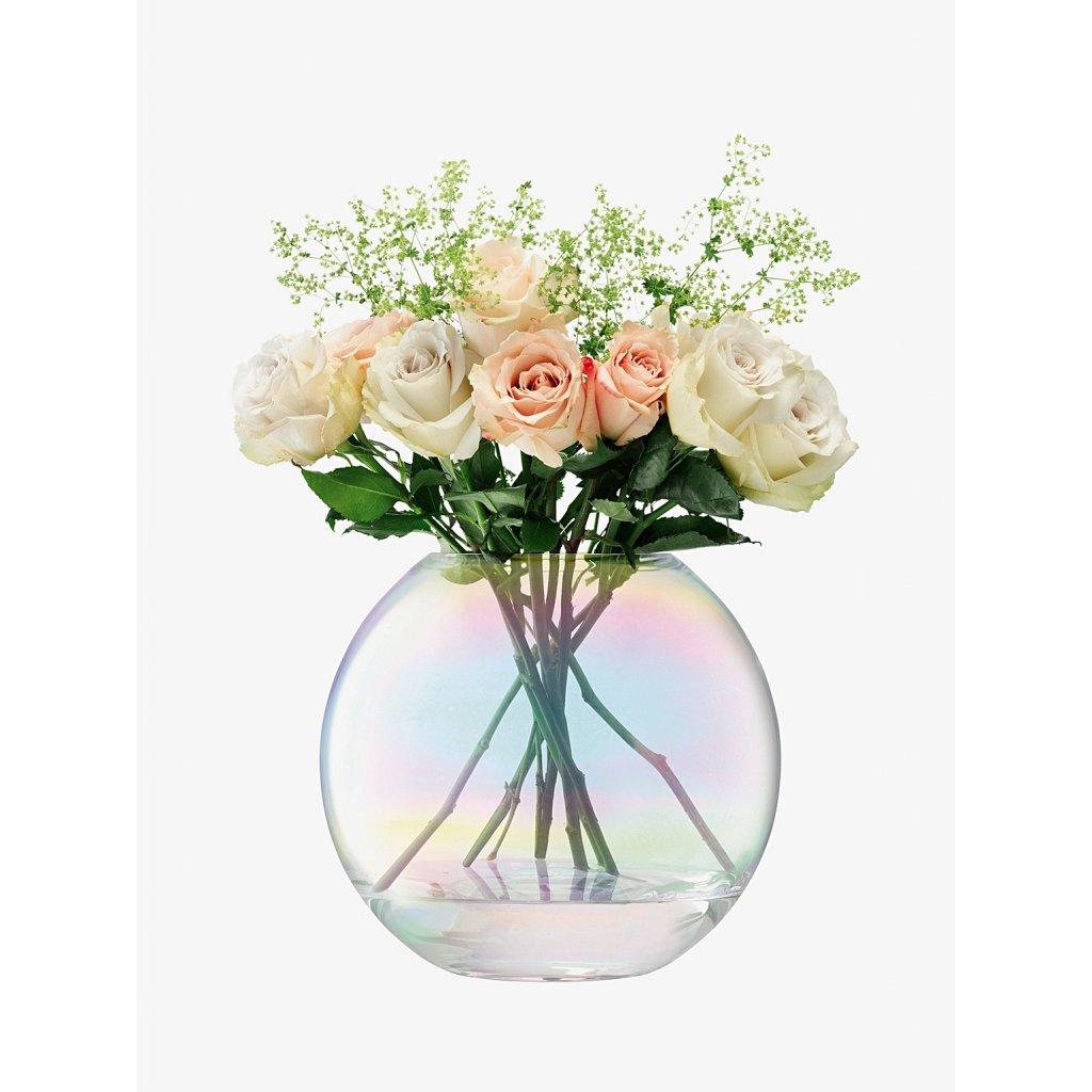 Váza Pearl, výška 24 cm, perleťová - LSA International