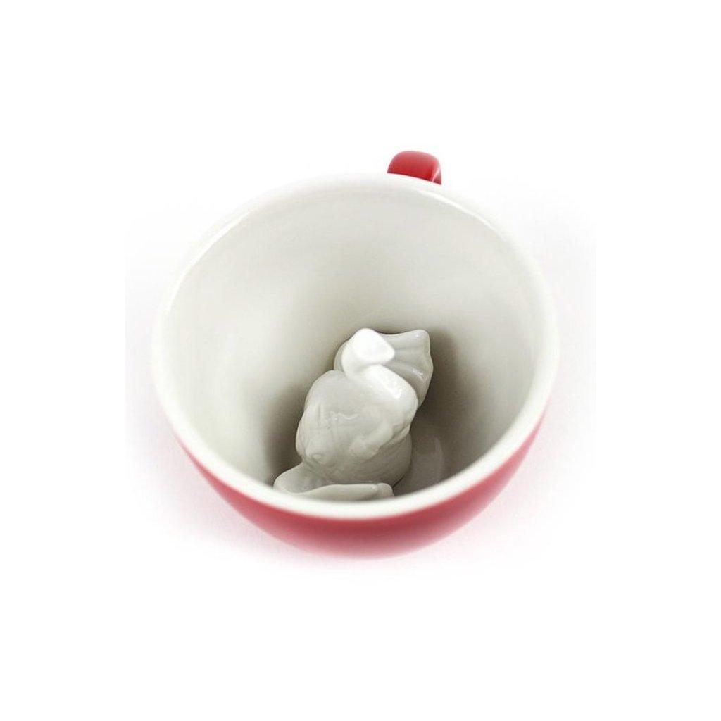 Hrnek SLON 325 ml 2 barvy - Creature Cups (Barva modrá)