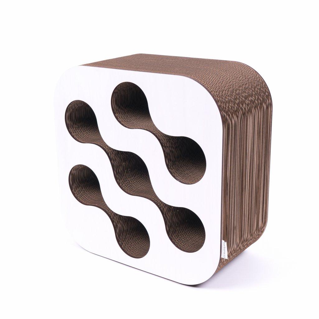 Kartoons Cardboard wine rack white 1500x1500px