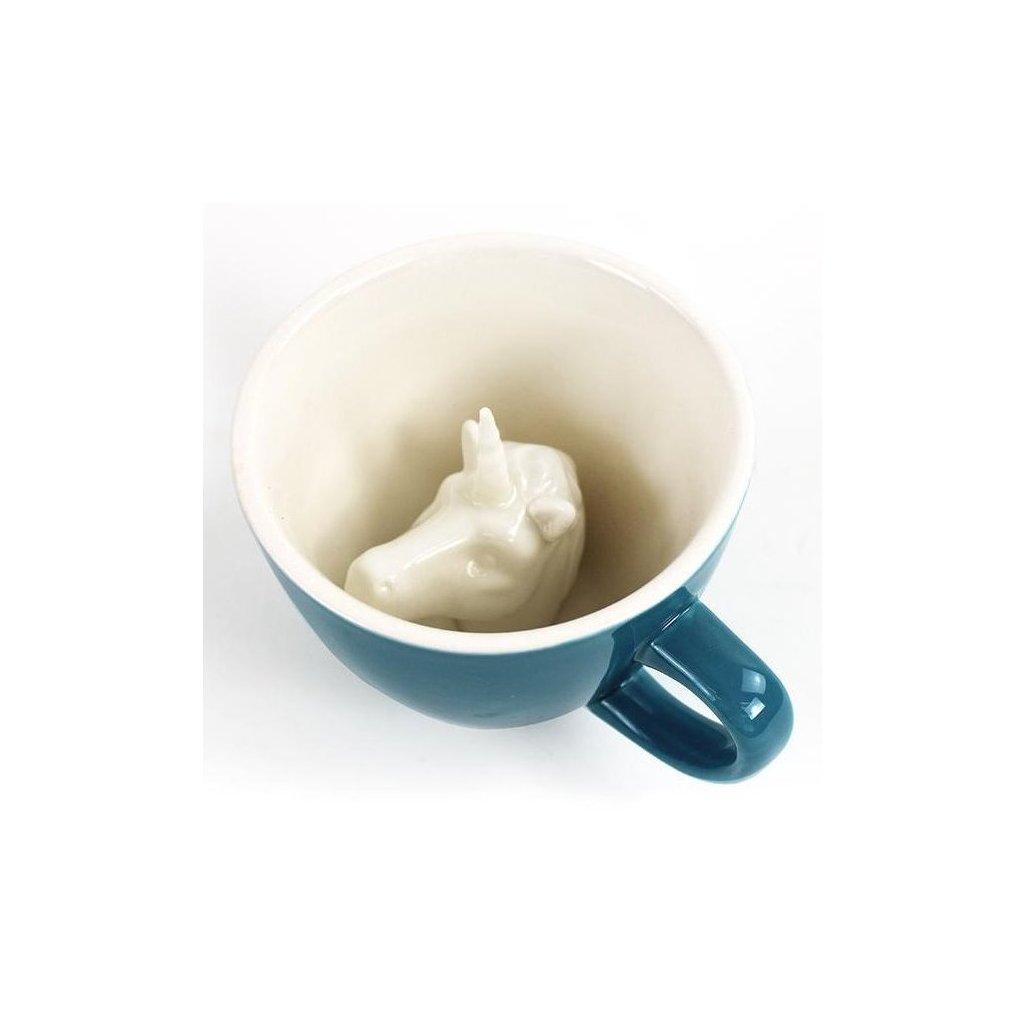 Hrnek JEDNOROŽEC 325 ml 2 barvy - Creature Cups (Barva bílá)