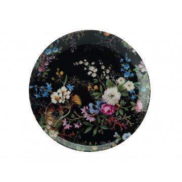 Porcelánový talíř MIDNIGHT BLOSSOM 20 cm - MAXWELL&WILLIAMS