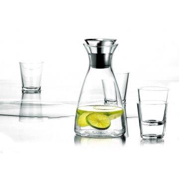 15558 set karafa s drip free okrajem 4 sklenice cira eva solo
