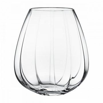 Skleněná váza Facet velká - Georg Jensen