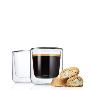 set 2ks termo sklenice na kávu/předkrm NERO - Blomus