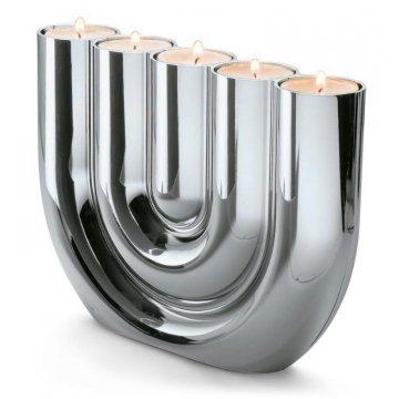 Svícen na čajové svíčky Double U - Philippi