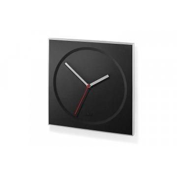 Nástěné hodiny quartz černé HOYO - ZACK