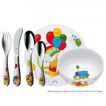 Dětský jídelní set 6dílný Medvídek Pú - WMF
