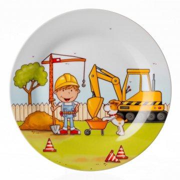 Dětský talíř 19 cm, malý stavitel - Ritzenhoff & Breker