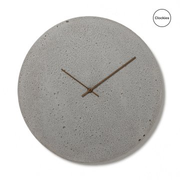 Betonové hodiny Clockies CL500102