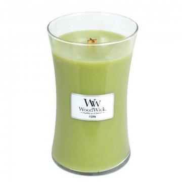 Svíčka sklo velké - Fern, 609g - WoodWick