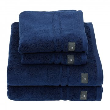 premium terry towel hurricane blue hand towel 601294