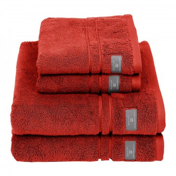 premium terry towel burnt ochre hand towel 286893