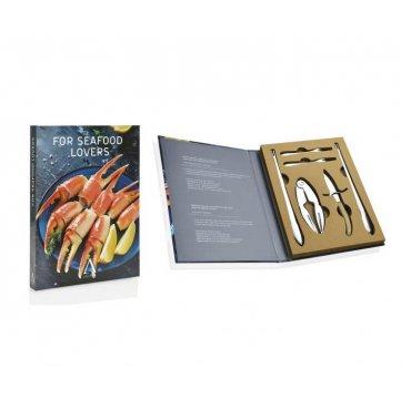 set gourmet de 10 piezas para amantes del marisco